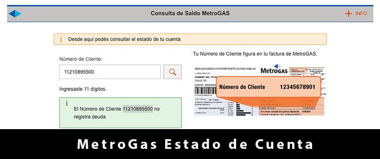 Estado de Cuenta Metro Gas Estado de Cuenta